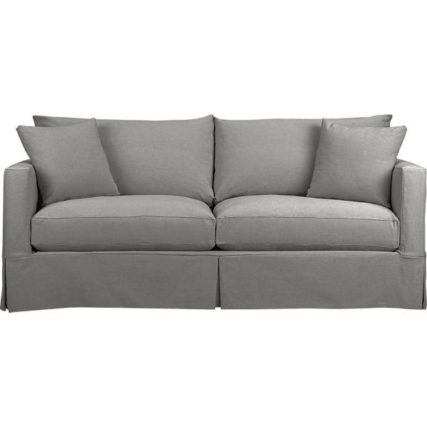 Queen Grey Sleeper Sofa with Air Mattress