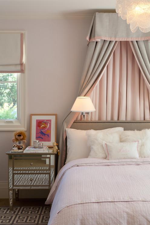 bed valance transitional girl 39 s room marie christine design