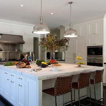 square kitchen island large stainless steel kitchen island design ideas page 1 2444