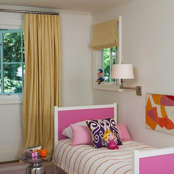 Hot Pink Headboard, Contemporary, girl's room, Marie Christine Design