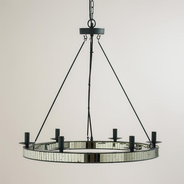Mirrored chandelier look 4 less and steals and deals view full size aloadofball