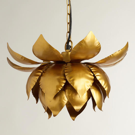 lotus roost by index flower chandelier