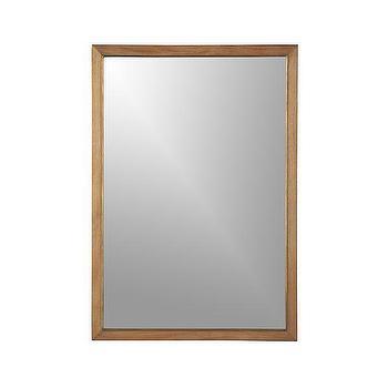 Blake Grey Wash Wall Mirror, Crate and Barrel