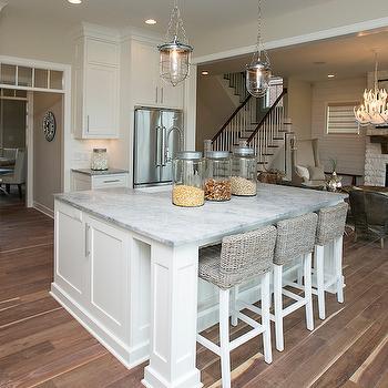 White Granite Countertops, Transitional, kitchen, BIA Parade of Homes