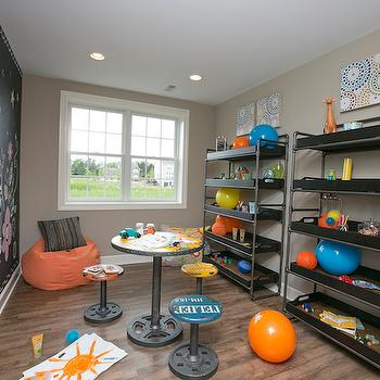 Toy Storage Ideas, Contemporary, boy's room, BIA Parade of Homes