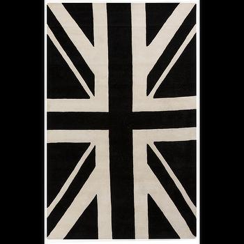 Goa Black & White Rug design by Surya I Burke Decor