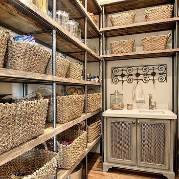 French Salvaged Wood Closet Doors Design Ideas