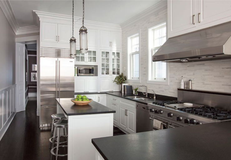U Shaped Kitchen Designs With Double Ovens on u shaped kitchen with white cabinets, u shaped kitchen with eating bar, u shaped kitchen with breakfast bar,