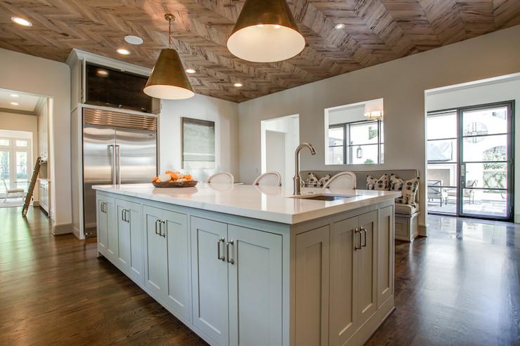 Vicostone Calacatta Transitional Kitchen Bd Home