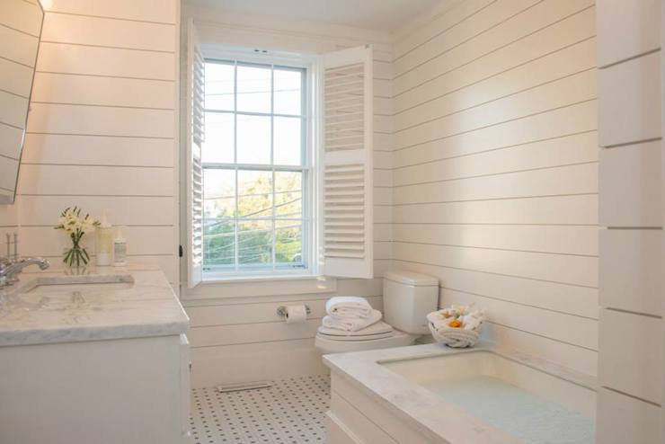 Shiplap paneling design ideas Bathroom designs wood paneling