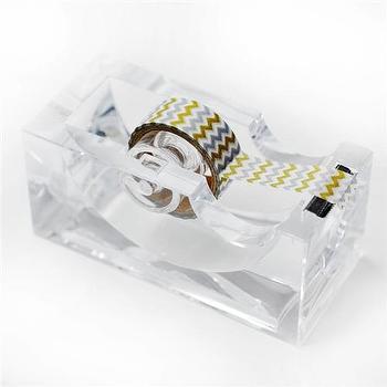 Lucite Washi Tape Dispenser I Zhush