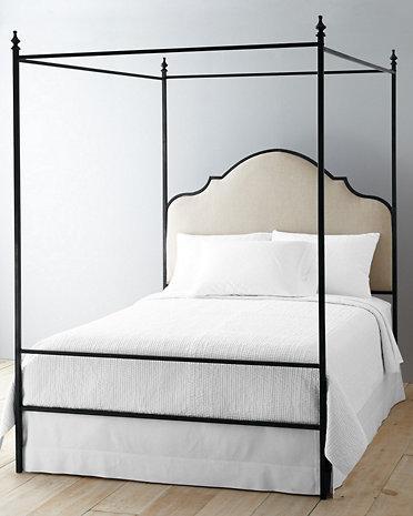 Lasalle Black Iron Bed
