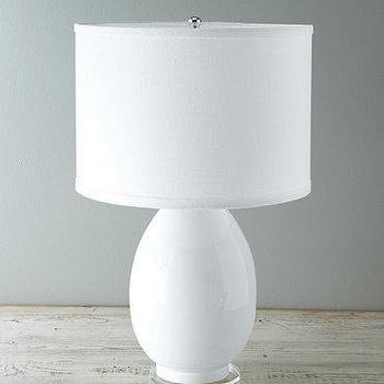 Egg shaped base table lamp products bookmarks design glass white egg lamp aloadofball Image collections