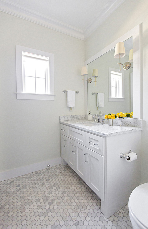 white marble tile bathroom. Carrara Marble Tile Bathroom Ideas White Tiles  And Calacatta Gold
