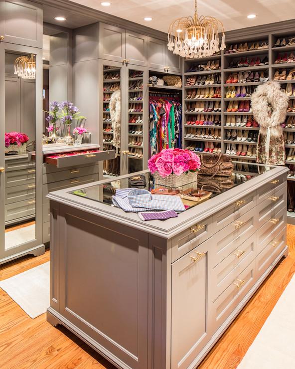 custom closets for women. Gray Closets Custom For Women L