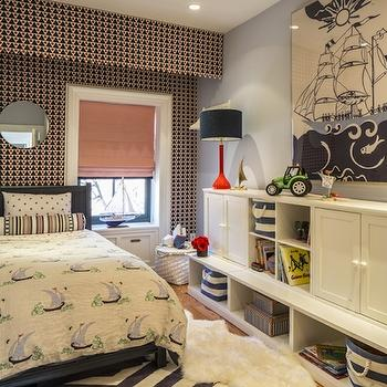 Kids Storage, Transitional, boy's room, Marks & Frantz