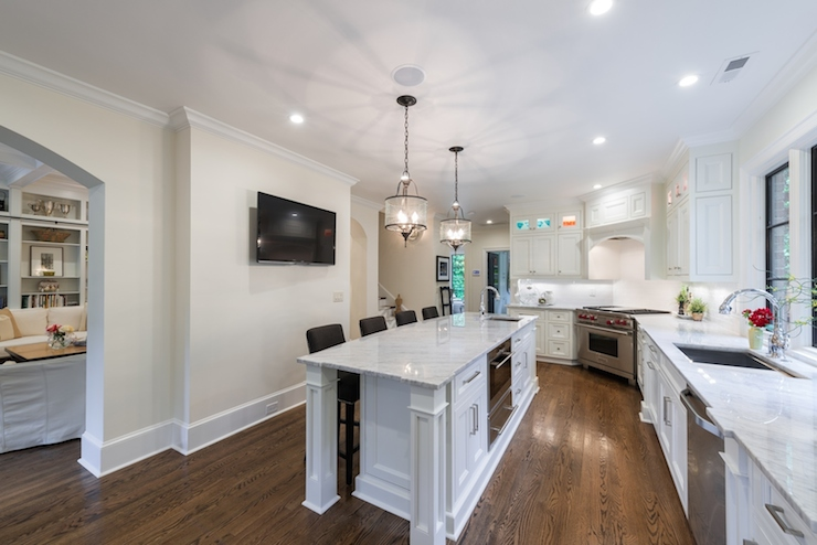Corner Stove Ideas Transitional Kitchen Andrew Roby