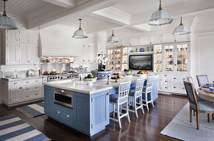 Beadboard Kitchen Island Ideas