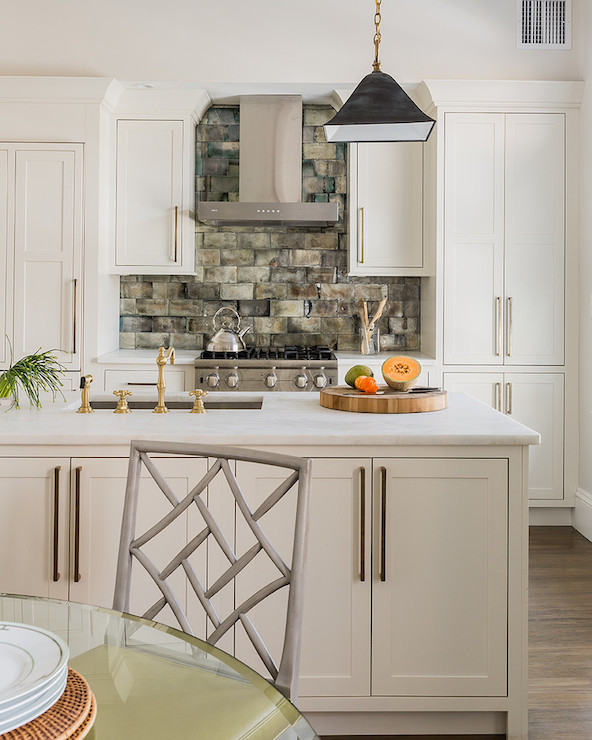 Hardware For White Kitchen Cabinets: Restoration Hardware Slate