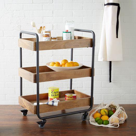natural wood kitchen caddy - Kitchen Caddy