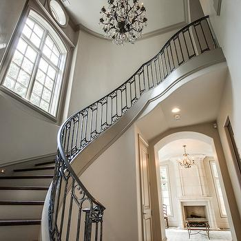 Accessible Beige, French, entrance/foyer, Sherwin Williams Accessible Beige, Tatum Custom Homes