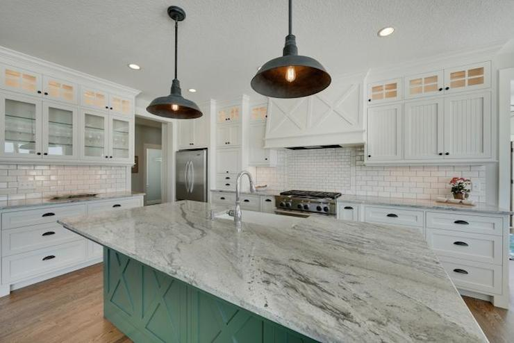 White granite countertops transitional kitchen for Furniture 4 less salinas