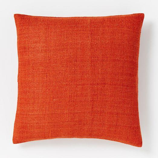 Leah Durner Abstract Pillow Cover Mushroom Tone West Elm