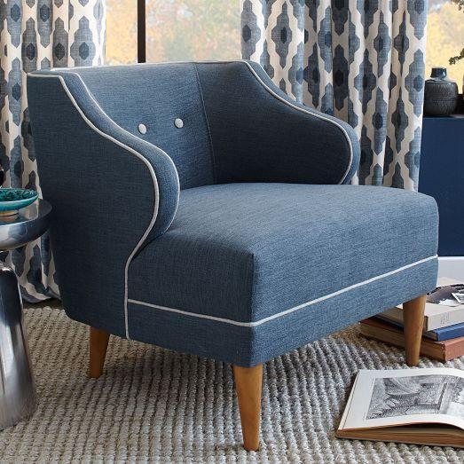 Captains Blue Chair