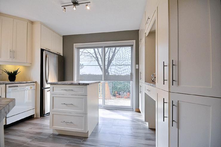 Contemporary Kitchen Sherwin Williams Gateway Gray