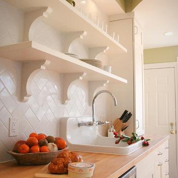 Butcher Block Countertops Subway Tile Patterns Design Ideas