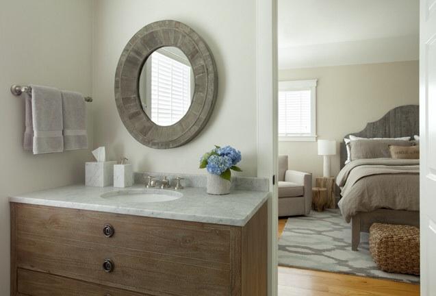 Dresser Sink Vanity Cottage Bathroom Benjamin Moore