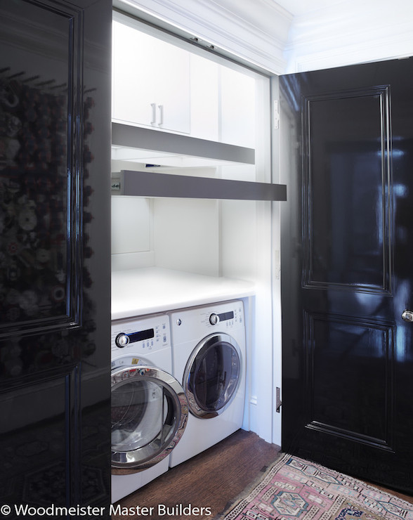 Laundry room closet design decor photos pictures for Exterior utility room door