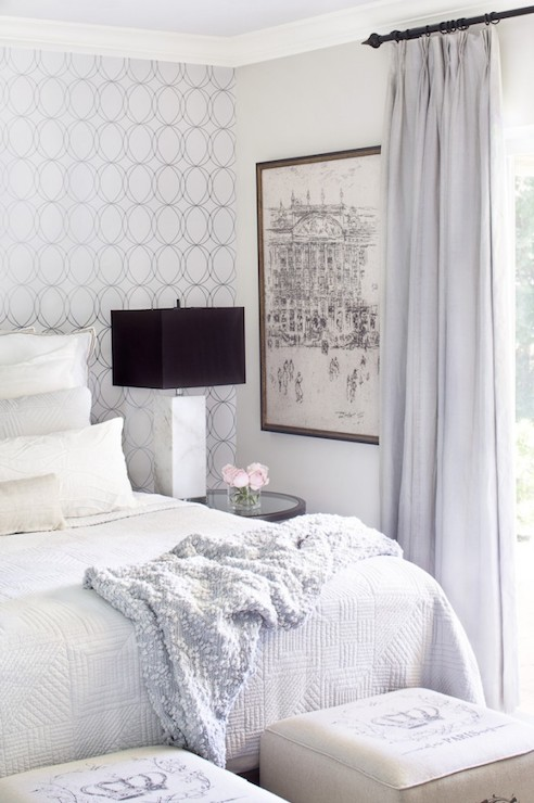 White And Gray Bedrooms