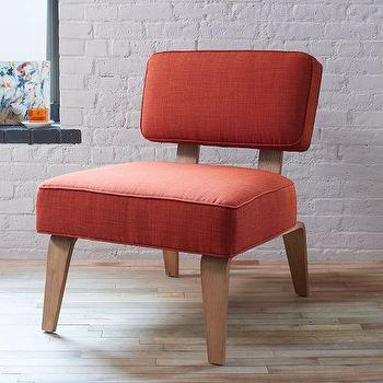 Bentwood Slipper Chair Solids, West Elm