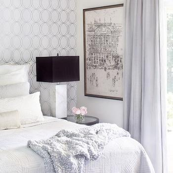 Accent Wall Behind Bed Design Ideas
