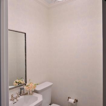 Soleil Small Pendant, Contemporary, bathroom, Munger Interiors
