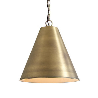 Brass Light Pendant Look 4 Less and Steals and Deals