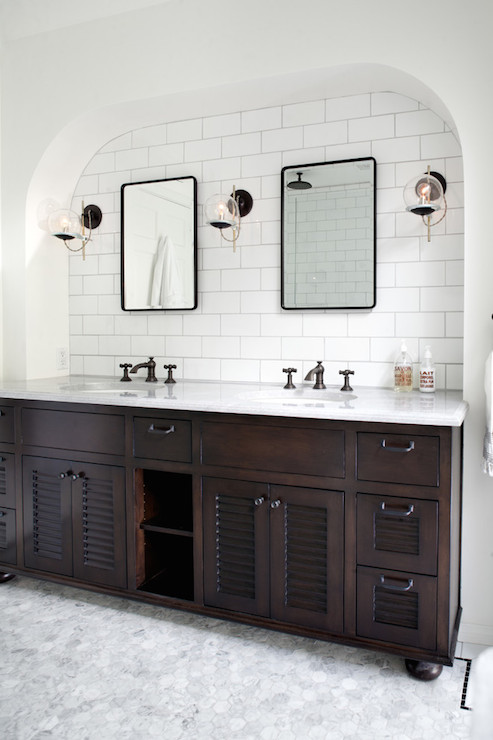 vanity alcove design ideas