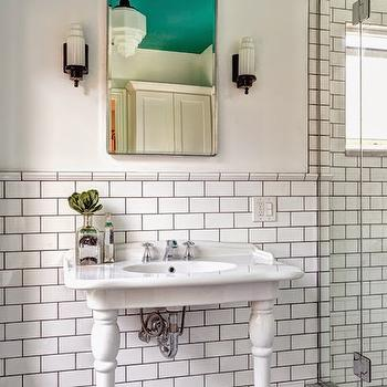 Art Deco Bathroom Wall Sconces art deco bathroom vanity design ideas