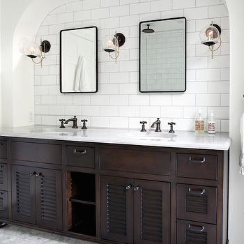 Bathroom Vanity Alcove Design Ideas