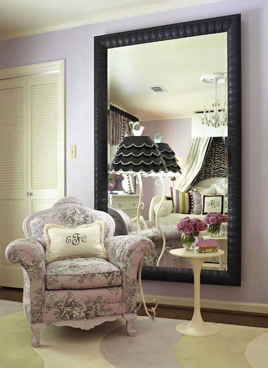 Toile Chair French Girls Room Sherwin Williams