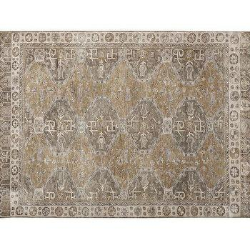 Nora Persian-Style Rug, Neutral, Pottery Barn