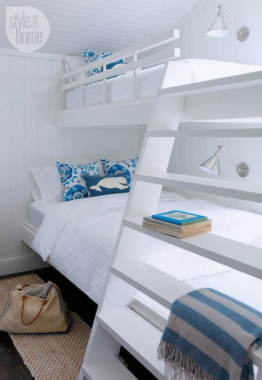 Floating Bunk Beds Cottage Boy S Room Style At Home