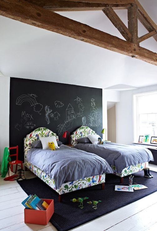Kids Arched Patterned Headboards Land Of Nod