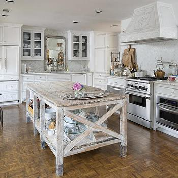 Freestanding Kitchen Island View Full Size French Country