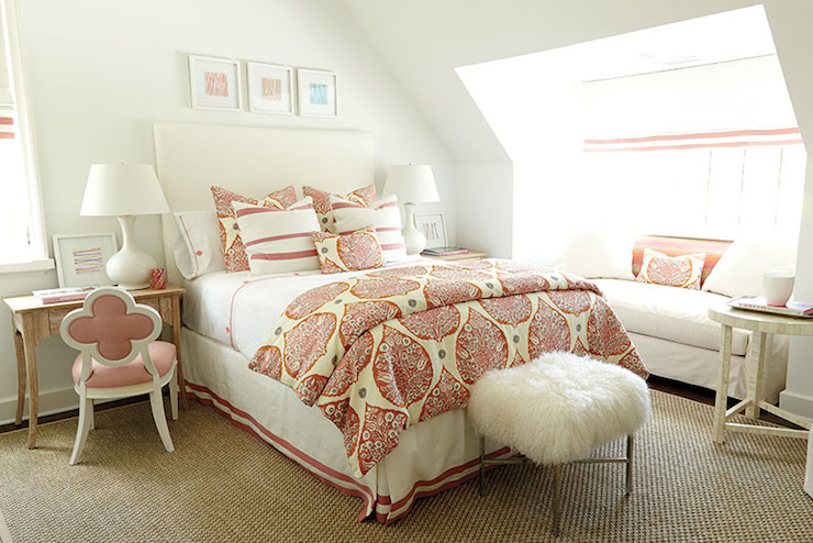 Ordinaire White And Pink Bedrooms