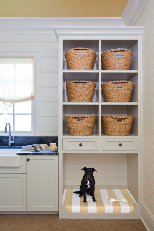Laundry Sorter Ideas Cottage Laundry Room Bhg