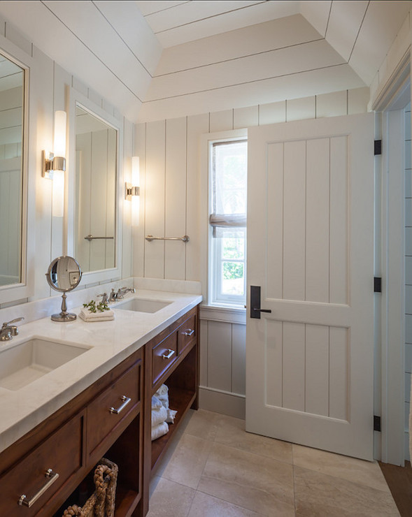 Craftsman style bathroom cottage bathroom laura hay - Arts and crafts style bathroom design ...