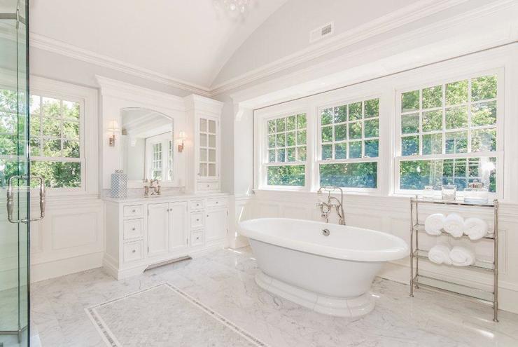 Barrel Ceiling Bathroom