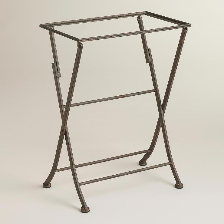 Butler Grey Tray Stand